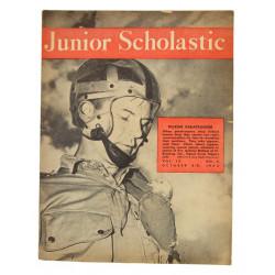 Magazine JUNIOR SCHOLASTIC, Octobre 1943