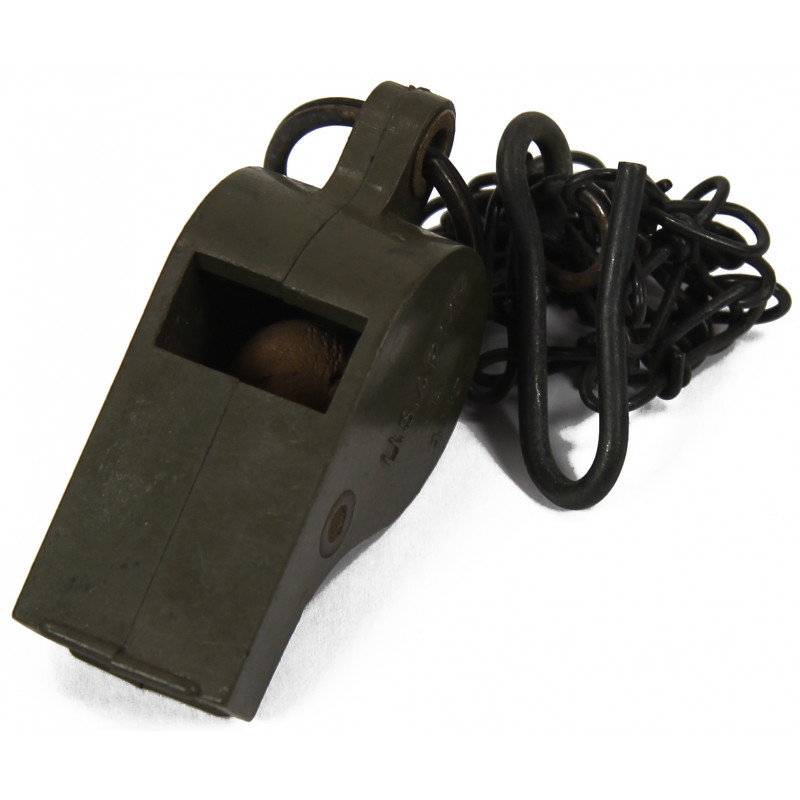Whistle, Plastic, US Army, 1943