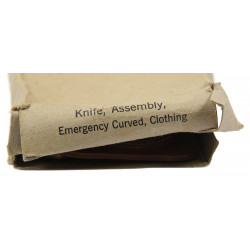 Knife, Assembly, Emergency Curved, Clothing