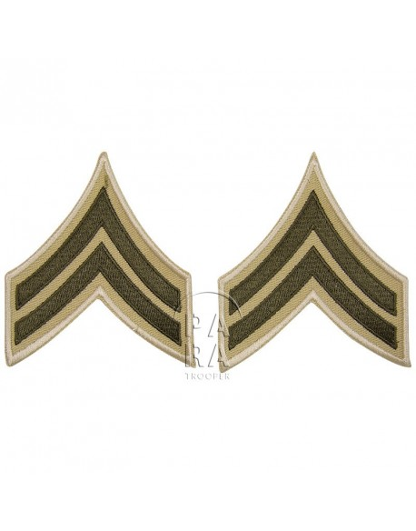 Corporal rank insignia, summer