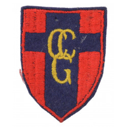 Shoulder patch, British, Control Commission for Germany