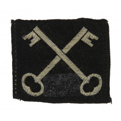 Shoulder patch, 2nd Infantry Division, British, BeVo type