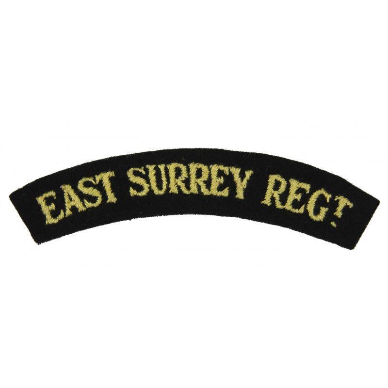 Shoulder Title, East Surrey Regiment, Dunkirk