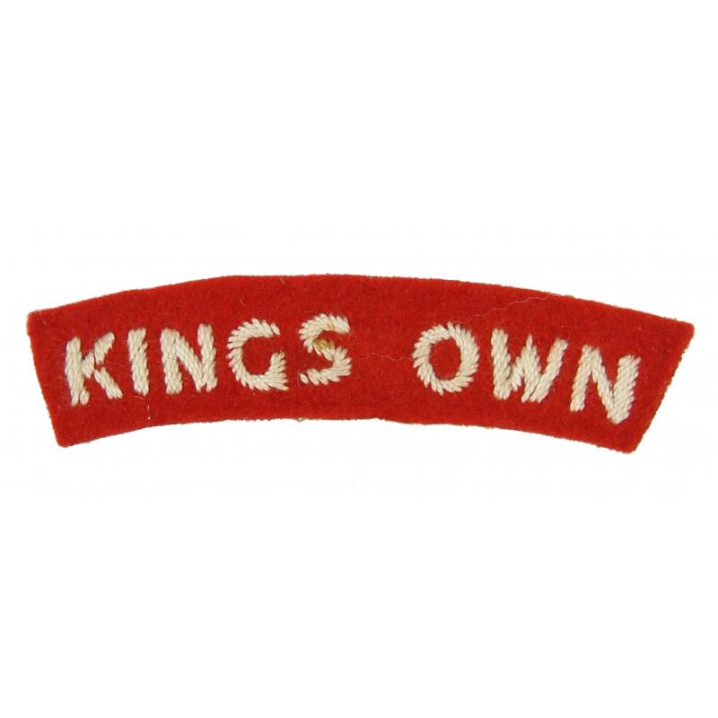 Shoulder Title, The King's Own Royal Regiment, Dunkirk