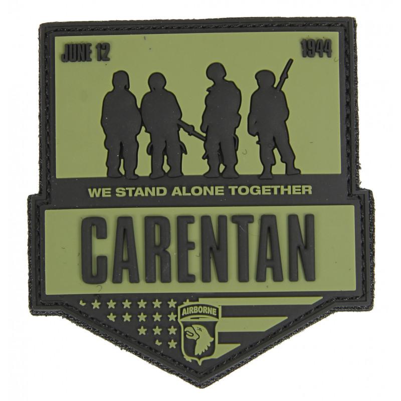 Patch, Tactical, Carentan, 3D, OD