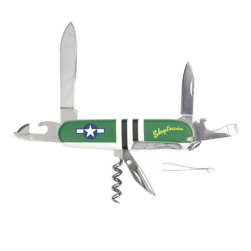 Couteau de poche, multifonction US Army