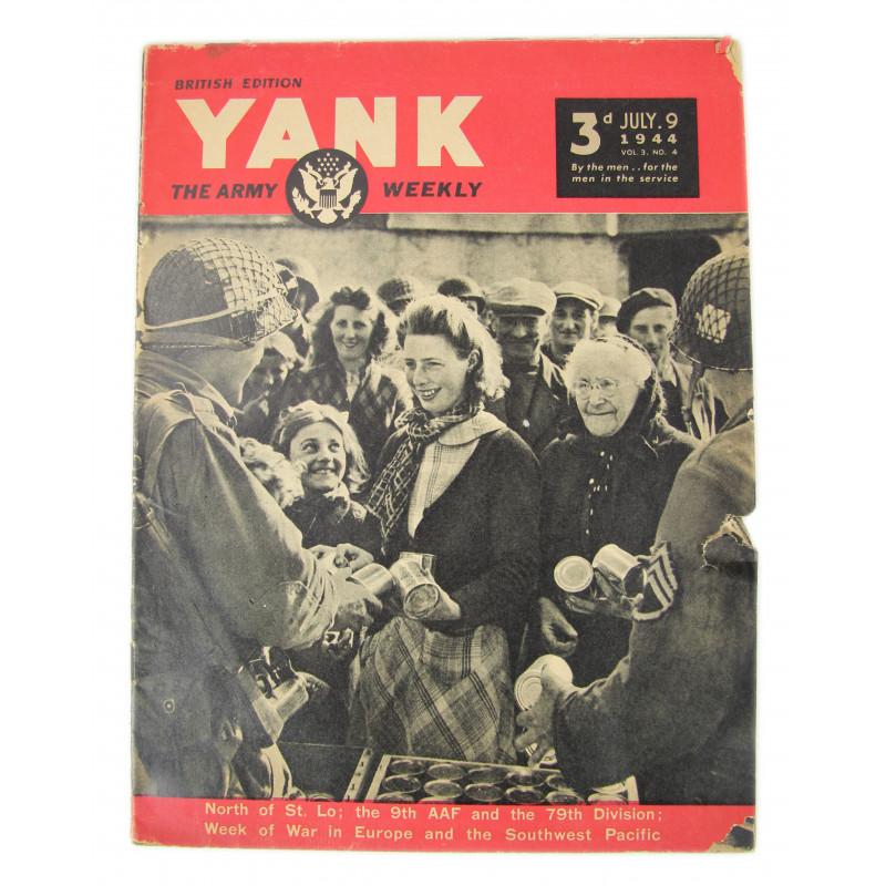 Magazine, YANK, July 9, 1944, Hiesville, 101st AB Div.