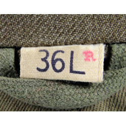 Jacket, Ike, Officer, 26th Art. Regt., 9th Infantry Division, Identified