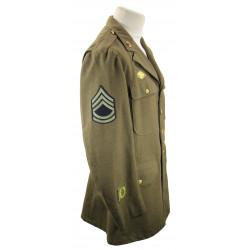 Coat, Wool, Serge, OD, T/Sgt, 44R, 1941