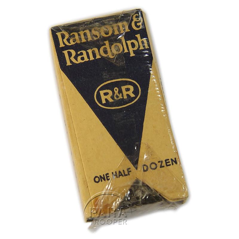 Burs, Dental, The Ransom & Randolph Company