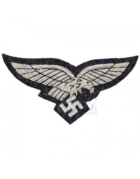 Aigle de poitrine LW, officier, cannetille