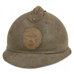 Helmet, Adrian, M-1915, Belgium