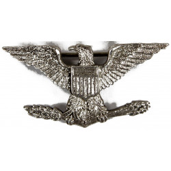 Rank insignia, Colonel, Shold-R-Form, Sterling