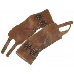 Guêtres en cuir, Buckle boots