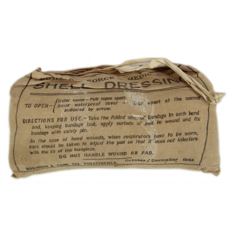 Shell dressing, British, RAF, 1944