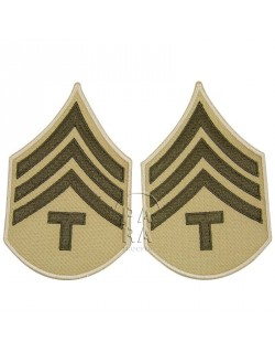T/4 rank insignia, summer