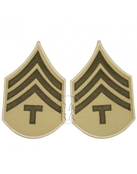 Rank, Insignia, T/4, Summer