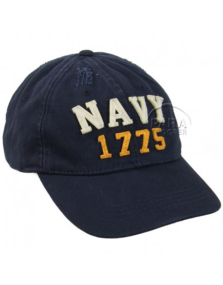 Cap, Baseball, Navy, 1775