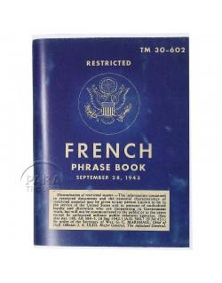 Livret French Phrase Book