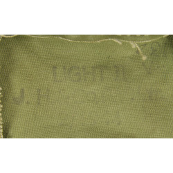 Housse pour masque anti-gaz anglais, 1944, Normandie