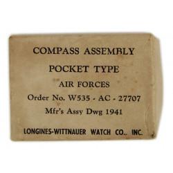 Compass, Pocket Type, USAAF, 1941, Longines