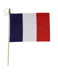 Flag, French, on stick