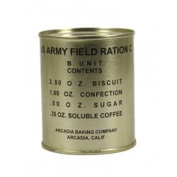 Ration, U.S. Army Field Ration C, B unit