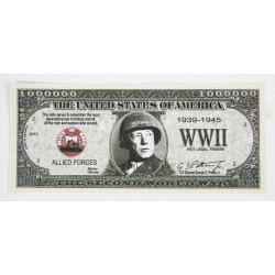 Billet commémoratif Patton