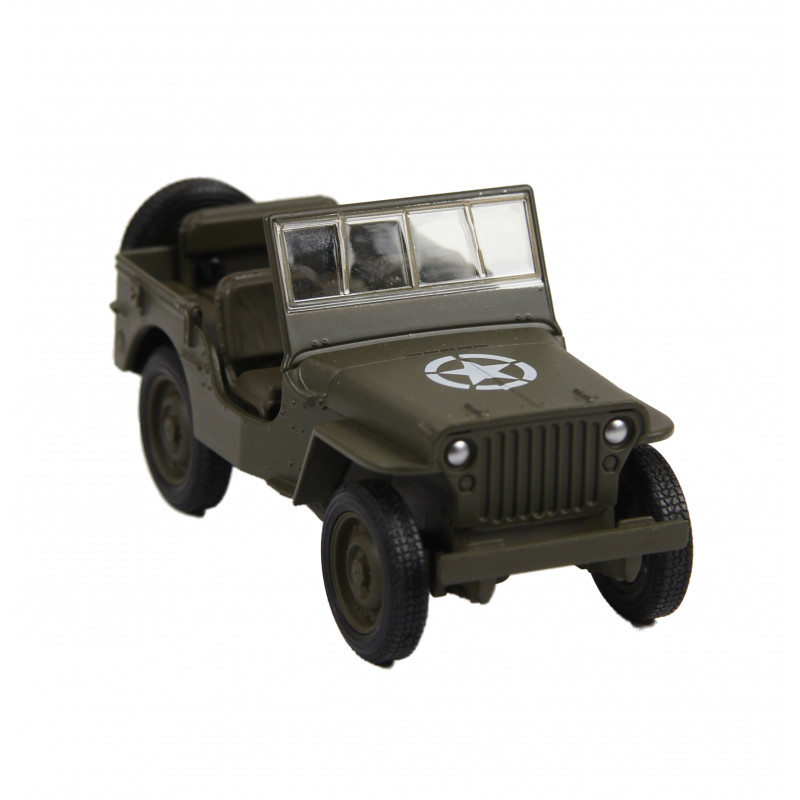 Jeep, Willys, Friction