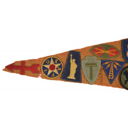Pennant, Souvenir, State Fair, with Patches