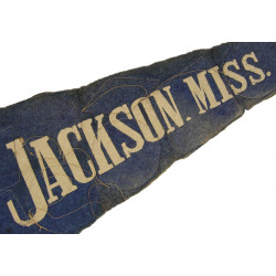 Pennant, Blue, Jakcson, Mississippi, with Patches