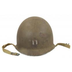 Helmet, M1, Fixed Bales, Hawley Liner, Captain