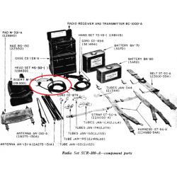 Receivers (Earphones), US Army, Type R-30-B