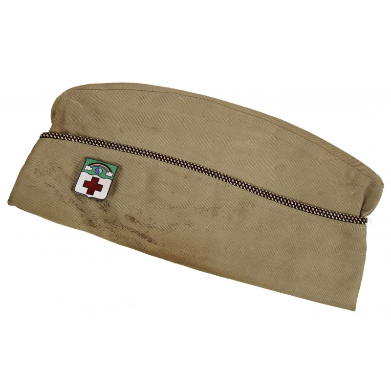 Cap, Garrison, Medical Department, Size 6 5/8, 119th Med. Bn.