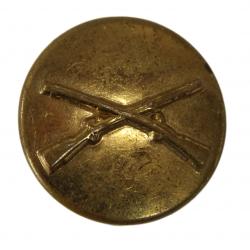 Disque de col infanterie, à pin's