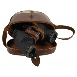 Binoculars, 6x30, 1943, with Case, Carrying, Type M17, with laundry number