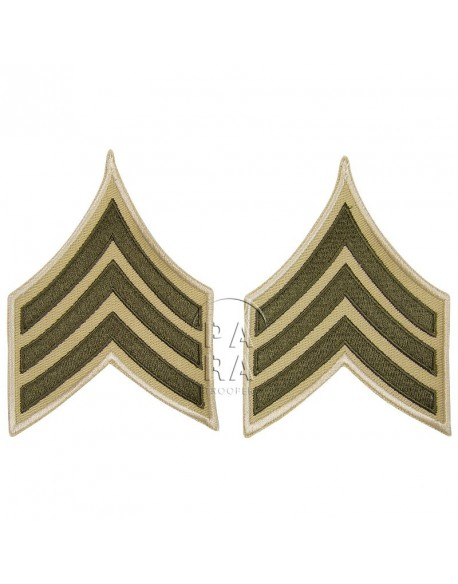 Sergeant rank insignia, summer