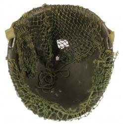 Helmet, M1, Flexible Bales, Impacted