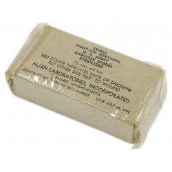 Pansement US Army, item N°92060, 24 July 1942