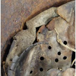 Helmet, M42, Luftwaffe, Normandy