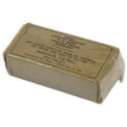 Packet, Dressing, Individual, US Army, Item No. 59355, January 13, 1942