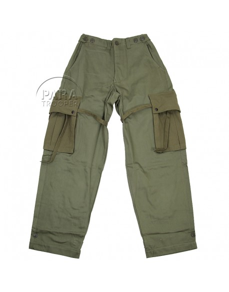 Pantalon de parachutiste M-1943, Made in USA