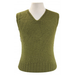 Sweater, Sleeveless, Wool, V-Neck, American Red Cross