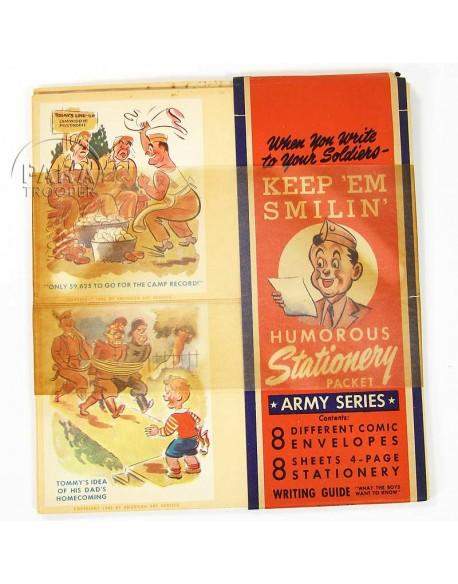 Coffret de correspondance, Keep 'em smilin'