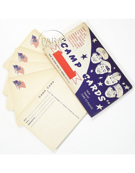 Packet, Stationery, Camp Cards
