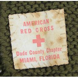 Hood, Wool, American Red Cross