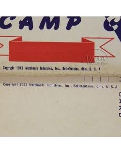 Coffret de correspondance, Camp Cards