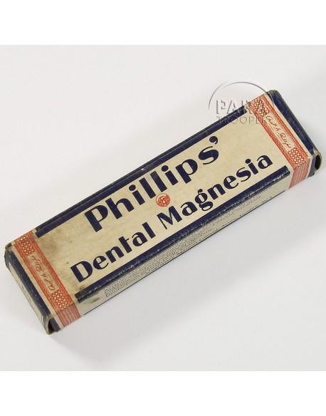 Boite de dentifrice Philips'