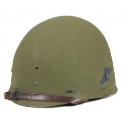 Helmet, M1, NCO, 3rd Bat., 508th PIR