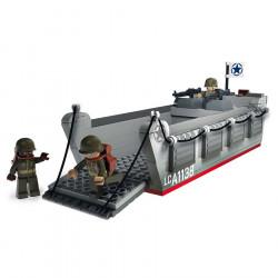 Barge, péniche de débarquement, LCVP, D-Day, Lego / Sluban